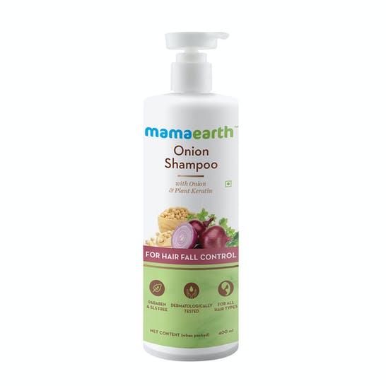 mamaearth onion shampoo